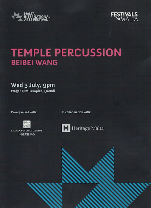 Temple Percussion, Malta